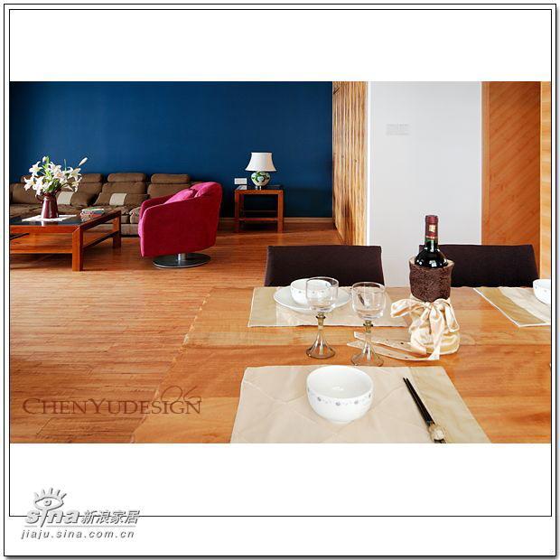 简约 四居 餐厅图片来自用户2739153147在2006设计跟踪--深蓝浅蓝59的分享