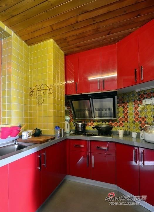其他 三居 厨房图片来自用户2737948467在爱侣140平波西米亚缤纷3居28的分享