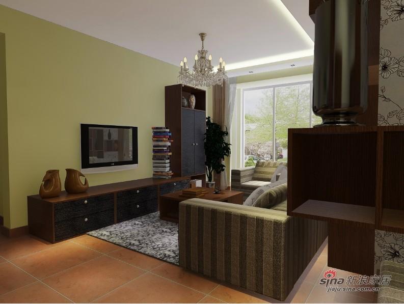 简约 二居 客厅图片来自用户2738829145在欣悦温馨的房间60的分享