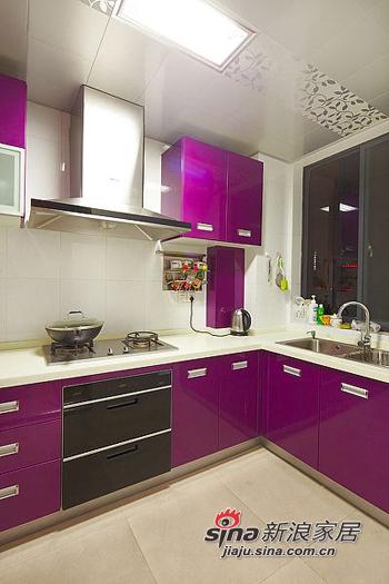简约 二居 厨房图片来自用户2559456651在6.8万打造98平两室一厅一温馨家76的分享