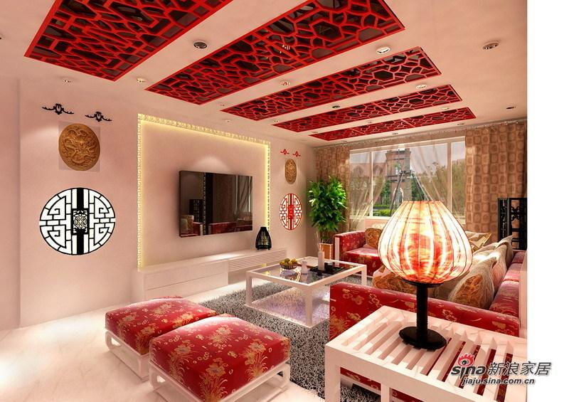 简约 三居 客厅图片来自用户2739153147在6万巧装现代简约的98平爱家67的分享