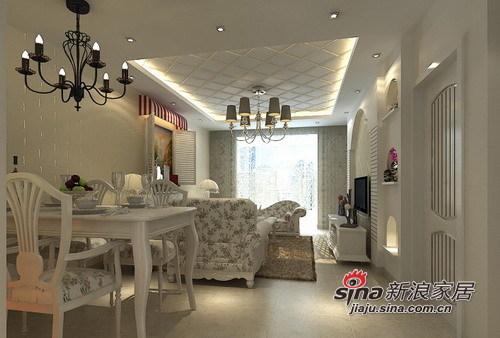 地中海 三居 客厅图片来自用户2757320995在125㎡蓝白经典浪漫地中海风情3居室80的分享