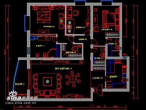 中式 三居 其他图片来自wulijuan_16在新中式设计案例75的分享