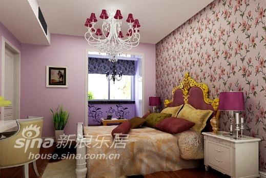 欧式 三居 卧室图片来自用户2746953981在简约欧式73的分享