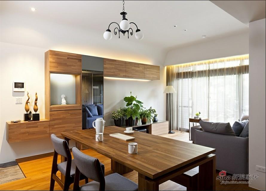 简约 二居 餐厅图片来自用户2738813661在5万3改造花家地85平简约实用2居室35的分享