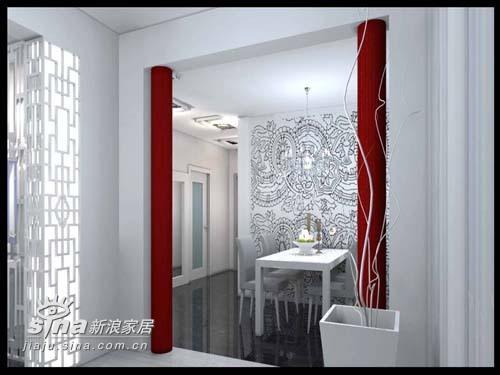 简约 一居 餐厅图片来自用户2557010253在阔达装饰中石油与橡树湾设计效果图47的分享