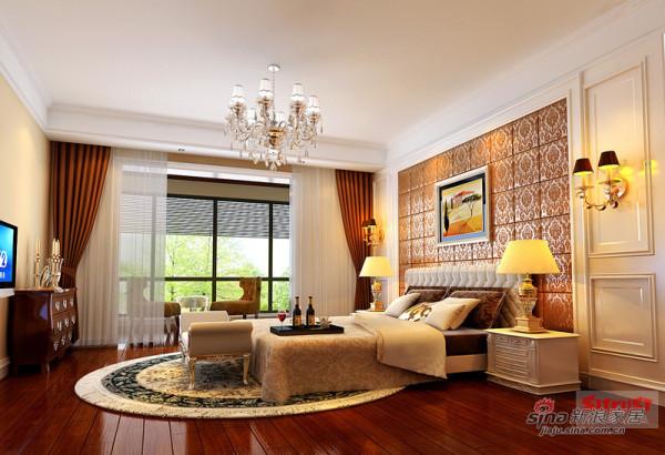 安德鲁斯别墅主卧室设计