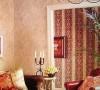美式乡村风格,代表装饰手法就是纯棉织物的质感