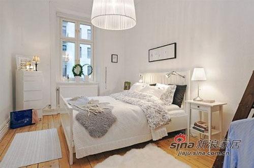 简约 二居 卧室图片来自用户2738093703在58平方的蜗居尽显宜家简洁风66的分享