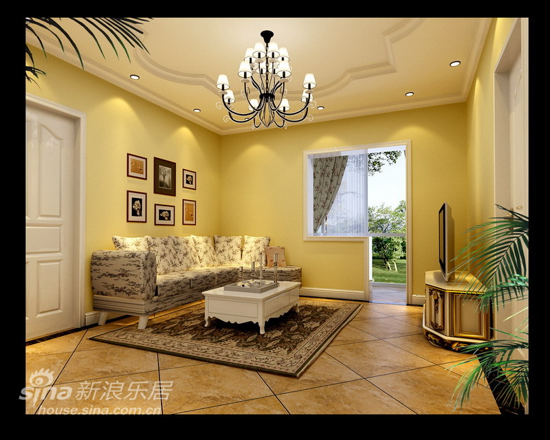 欧式 三居 客厅图片来自用户2772873991在简约欧式田园浪漫屋60的分享