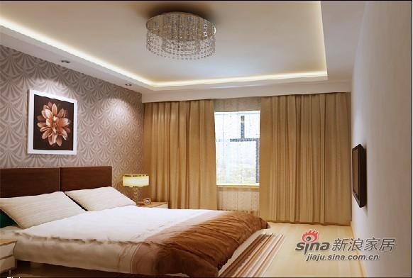 简约 二居 卧室图片来自用户2738813661在5.3万打造简约时尚80平爱家28的分享