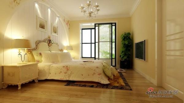 北京城建·世华泊郡卧室效果图