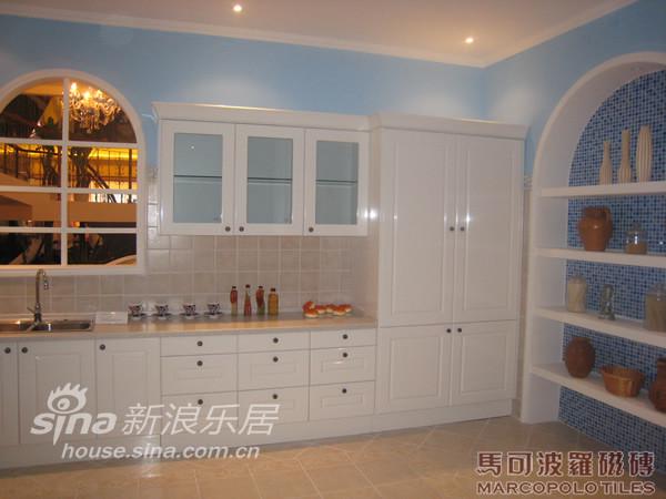 地中海 复式 厨房图片来自用户2757320995在欧式复古风格-马可波罗66的分享