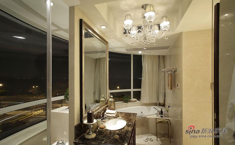 美式 三居 卫生间图片来自佰辰生活装饰在9万打造120平时尚美式三口之家81的分享