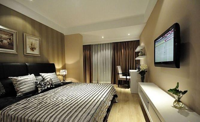 简约 三居 卧室图片来自用户2738093703在6.5万完美呈现简约风格三居室17的分享