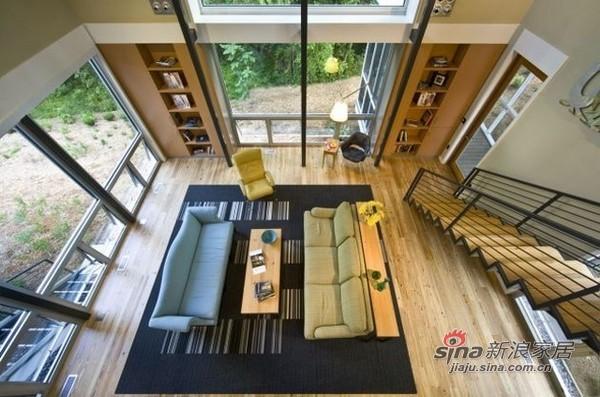 简约 别墅 客厅图片来自用户2739153147在28图详解国外开放式客厅设计170的分享