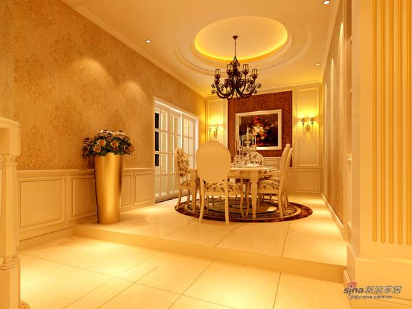 欧式 三居 餐厅图片来自用户2746948411在欧式风格60的分享