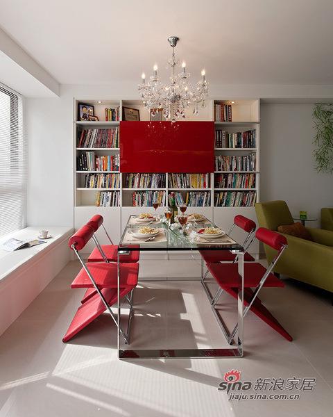 简约 二居 餐厅图片来自用户2738820801在98平米温馨简约风格阳光美居63的分享