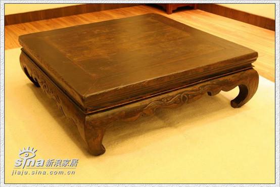 淘的旧炕桌