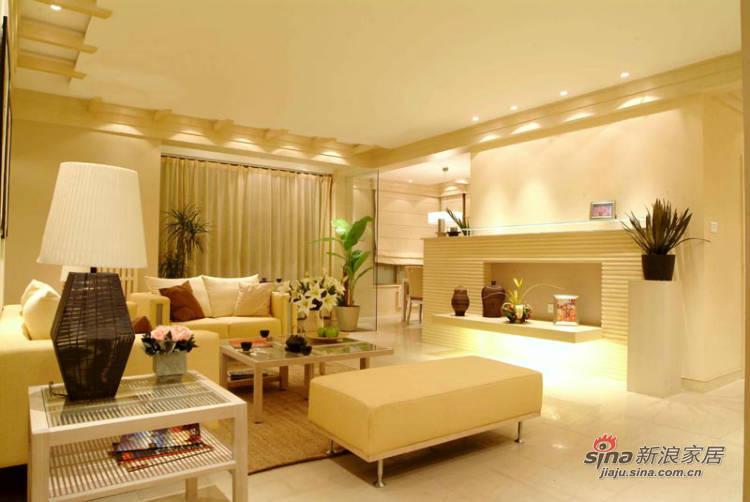 简约 四居 客厅图片来自用户2737950087在4万营造140平潮流时尚居 68的分享