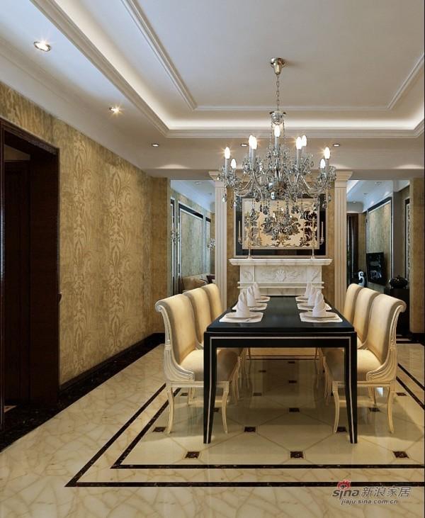 运河湾3居室简欧设计