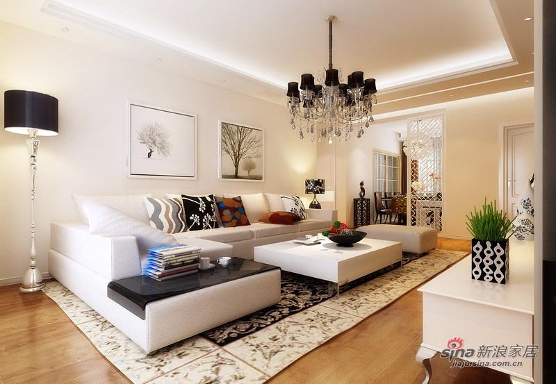 简约 三居 客厅图片来自用户2556216825在大气!7万改造125㎡阳光简约温馨亮丽3居94的分享
