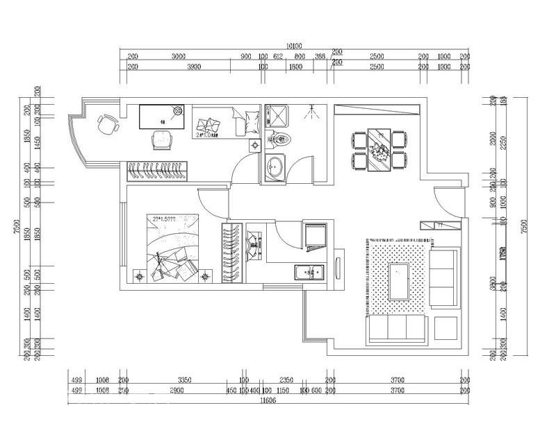 简约 二居 客厅图片来自用户2745807237在简约温馨 76平和谐之家34的分享