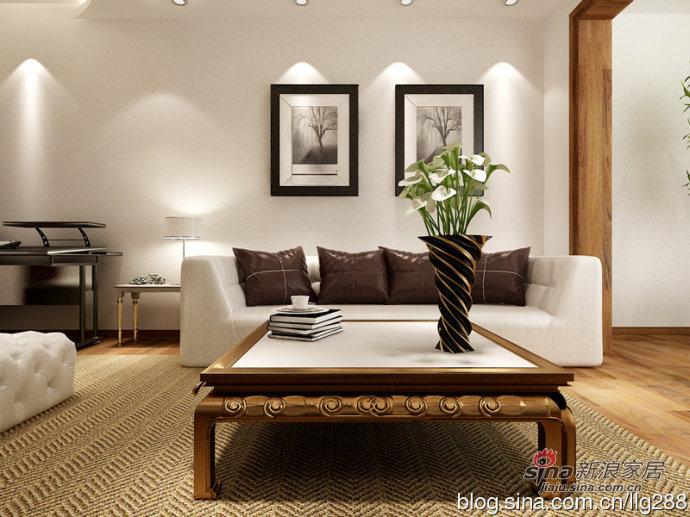 简约 二居 客厅图片来自用户2739378857在9万打造现代简约110平两居室-实创装饰效果图70的分享