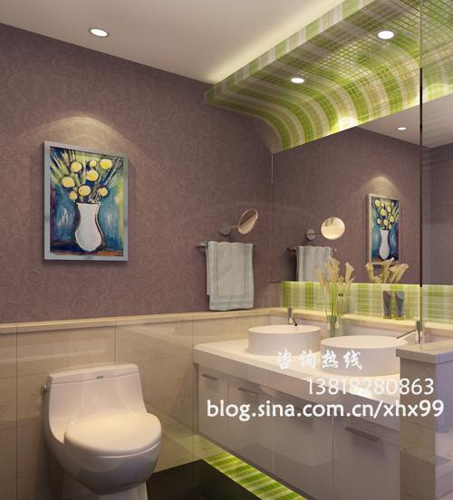 欧式 二居 卫生间图片来自用户2746889121在简欧风格125平低调奢华99的分享