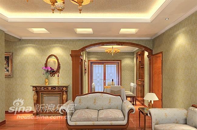 欧式 二居 客厅图片来自用户2745758987在美颂巴黎-金色复古欧式39的分享