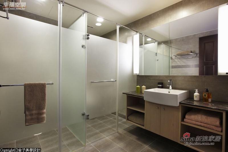 混搭 跃层 卫生间图片来自幸福空间在【高清】165平专属自由空间进行曲36的分享