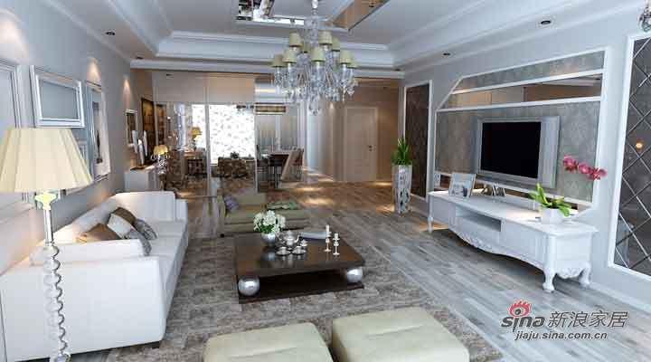 简约 二居 客厅图片来自用户2737950087在11万打造润园翡翠城142平现代简约两居96的分享