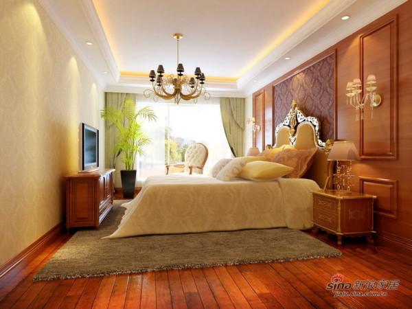 简欧卧室设计方案二