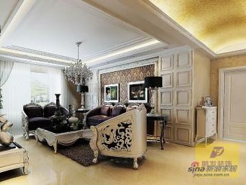 金地紫云庭三室两厅打造欧式大气之风97
