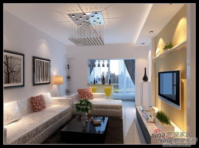 简约 二居 客厅图片来自用户2557010253在我的专辑694634的分享