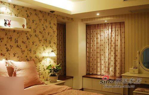 简约 二居 卧室图片来自用户2737735823在软装5万打造95平韩式美窝47的分享
