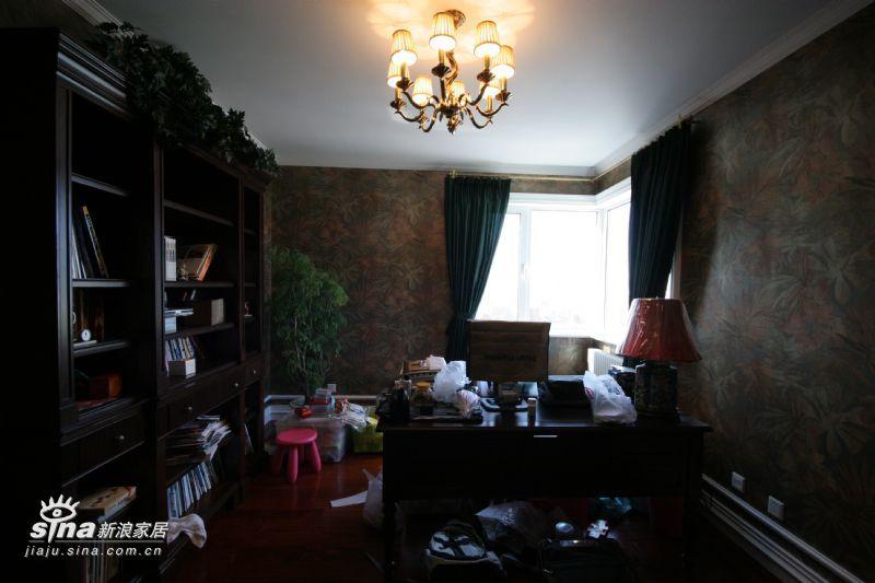 欧式 别墅 书房图片来自用户2757317061在紫金长安29的分享