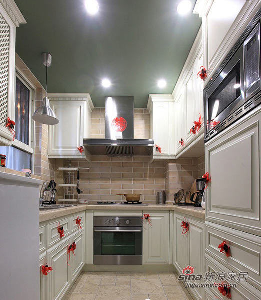 美式 二居 厨房图片来自用户1907686233在80后小夫妻100平美式小2居24的分享