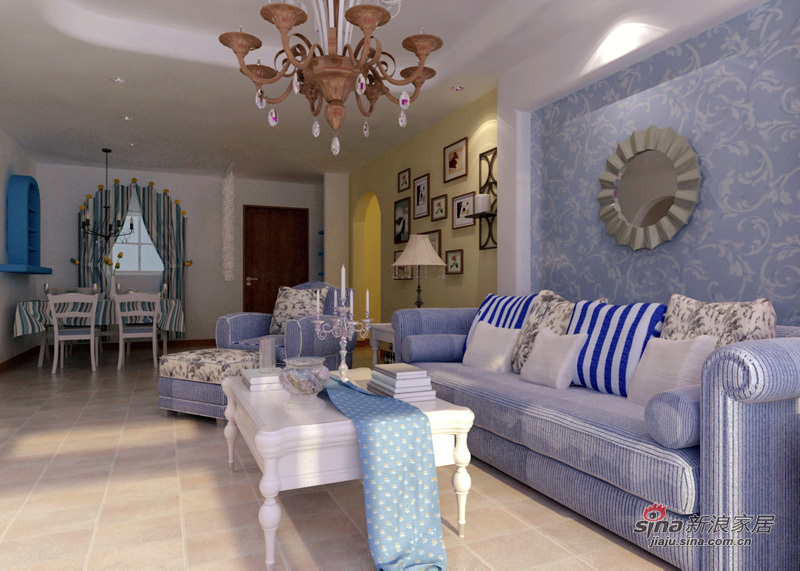 地中海 二居 客厅图片来自用户2756243717在清新地中海29的分享