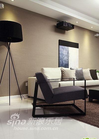 简约 四居 客厅图片来自用户2737759857在140平米现代简约家38的分享