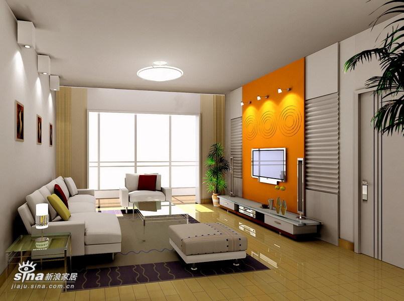 简约 三居 客厅图片来自用户2557979841在现代简约90的分享