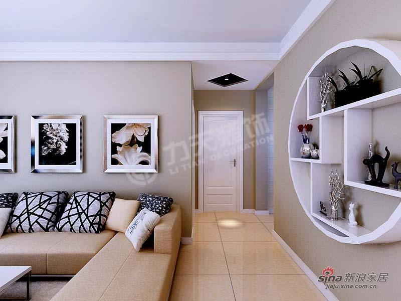 简约 三居 玄关图片来自阳光力天装饰在金筑花园-3室1厅1厨1卫-简约风格83的分享