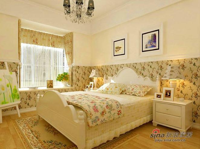 田园 三居 卧室图片来自用户2557006183在6万打造102平乡村田园三居11的分享