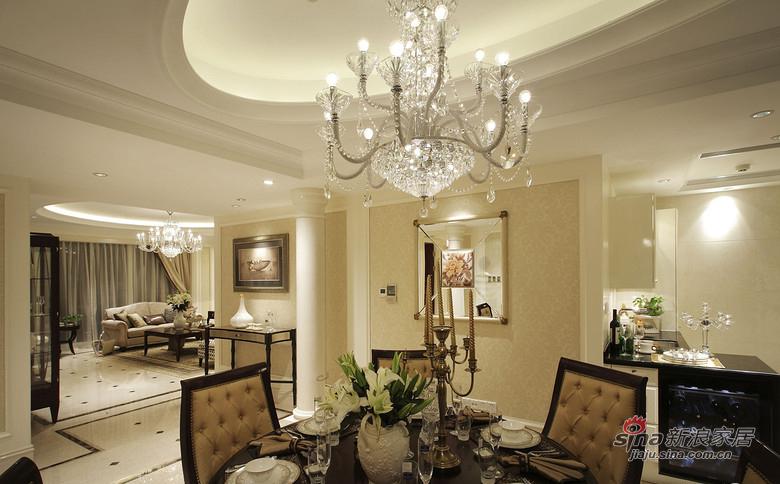 美式 三居 餐厅图片来自佰辰生活装饰在9万打造120平时尚美式三口之家81的分享