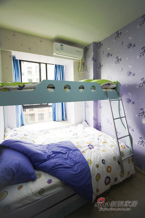 现代 三居 卧室图片来自xiaowu_15在120平现代简约风格舒适居54的分享
