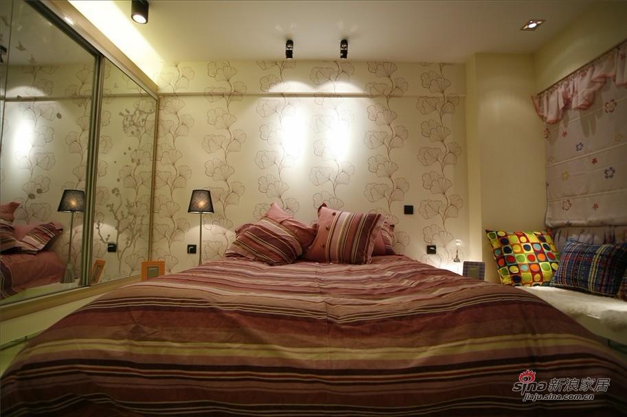 简约 二居 卧室图片来自用户2737759857在6.7万改造115平黑白大2居58的分享