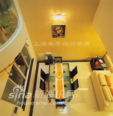 简约 别墅 餐厅图片来自用户2737735823在简洁素雅妆扮温馨别墅44的分享
