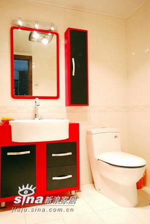 简约 三居 卫生间图片来自用户2739153147在实创装饰保利金泉户型设计66的分享