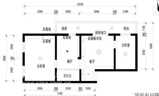 田园 三居 客厅图片来自用户2557006183在赵公口田园风格小三居52的分享