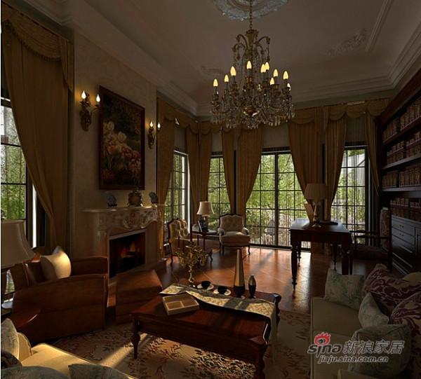 古典后奢华别墅设计